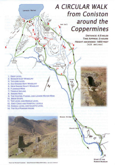 Coniston Coppermines Leaflet